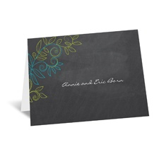 Chalky Vines - Note Card and Envelope