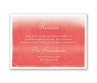 Watercolor Whimsy - Reception Card