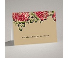 Vintage Peonies - Note Card and Envelope