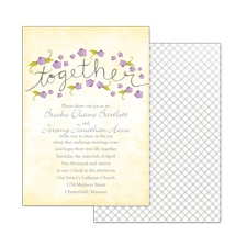 Blossom Together - Freesia - Invitation
