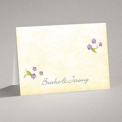 Blossom Together - Freesia - Note Card and Envelope