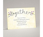 Blossom Together - Freesia - Reception Card