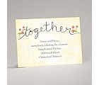 Blossom Together - Posie Pink - Reception Card