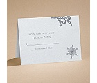 Winter Wonders - Respond Card and Envelope