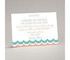 Waves of Color - Reception Card