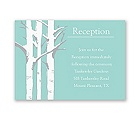 Birch Lovebirds - Reception Card