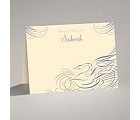 Calligraphy Swan - Note Card and Envelope