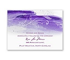 Rushing Watercolor - Grapevine - Reception Card