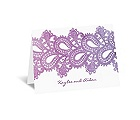Watercolor Paisley - Grapevine - Note Card and Envelope
