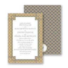 Art Deco Border - Invitation