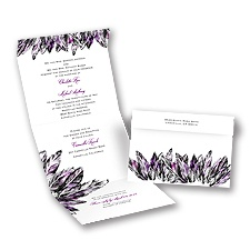 Feathery Style - Grapevine - Seal and Send Invitation