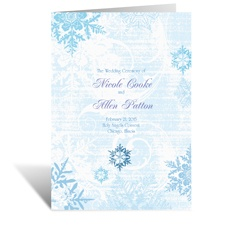 Snowflakes and Swirls - Celestial Blue - Program