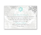 Snowflakes and Swirls - Pewter - Map Card