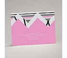 Extremely Chevron - Bubble Gum - Reception Card