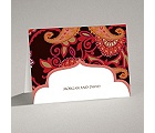 Exotic Flair - Espresso - Note Card and Envelope