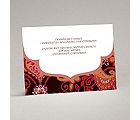 Exotic Flair - Espresso - Reception Card