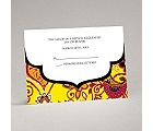 Exotic Flair - Canary - Response Card and Envelope