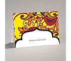 Exotic Flair - Canary - Note Card and Envelope