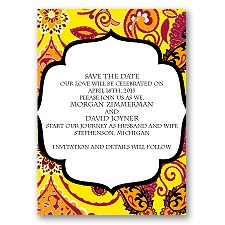 Exotic Flair - Canary - Save the Date Magnet