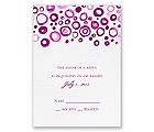 Artsy Romance - Amethyst - Response Card and Envelope