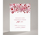 Artsy Romance - Cherry - Response Card and Envelope