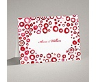Artsy Romance - Cherry - Note Card and Envelope