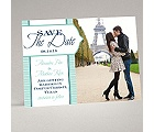 Pinstripe Monogram - Save the Date Magnet