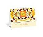 Moroccan Beauty - Citrus - Note Card and Envelope