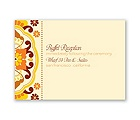 Moroccan Beauty - Citrus - Reception Card