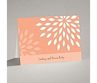 Mod Blossoms - Corabell - Note Card and Envelope