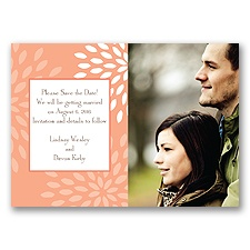 Mod Blossoms - Corabell - Save the Date Magnet