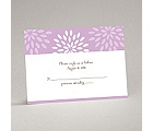 Mod Blossoms - Freesia - Response Card and Envelope