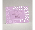 Mod Blossoms - Freesia - Reception Card