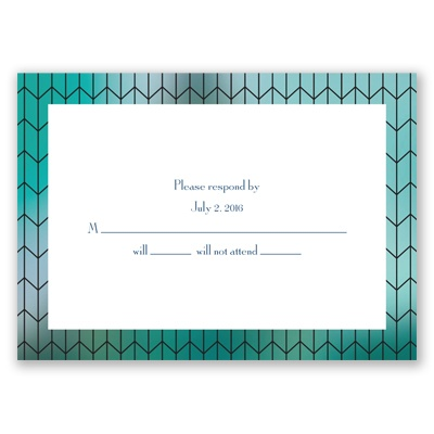Linked Together - Response Card and Envelope