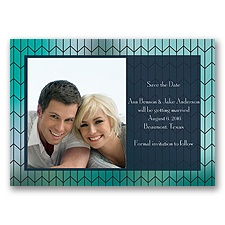 Linked Together - Save the Date Magnet