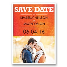 Wedding Type - Corabell - Save the Date Magnet