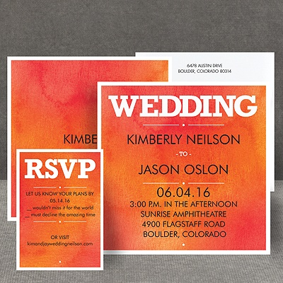 Wedding Type - Corabell - Invitation
