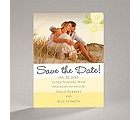 Romantic Posies - Canary - Save the Date Magnet
