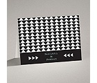 Legendary Love - Black - Note Card and Envelope