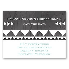 Legendary Love - Black - Save the Date Magnet