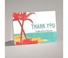 Palm Tree Pair - Note Card and Envelope
