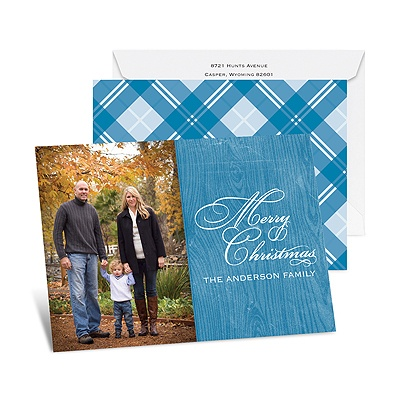 Country Appeal - Mosaic - Petite Photo Holiday Card