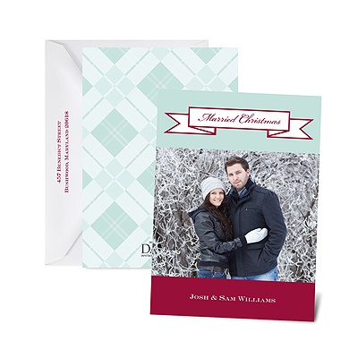 Banner Holiday - Petite Photo Holiday Card