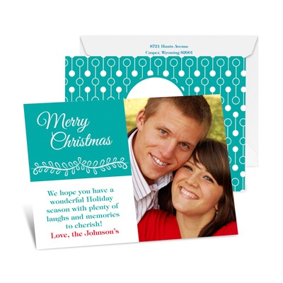 Christmas Expressions - Petite Photo Holiday Card