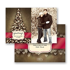 Tree of Love - Photo Holiday Card
