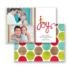Joyful Bling - Photo Holiday Card