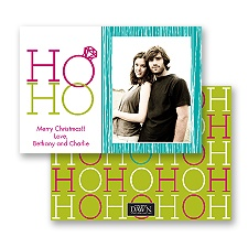 Ho Ho - Granny Apple - Photo Holiday Card