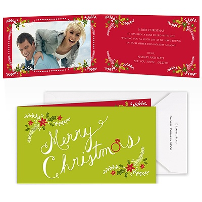 Merriest Moments - Granny Apple - Photo Holiday Card