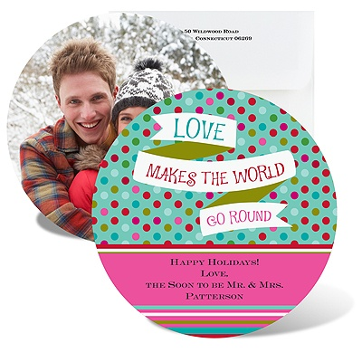 World Go Round - Photo Holiday Card