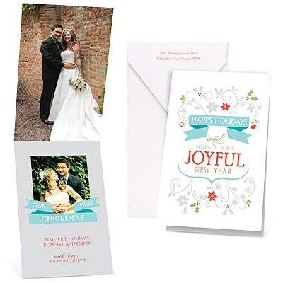 Joyful Greeting - Photo Holiday Card